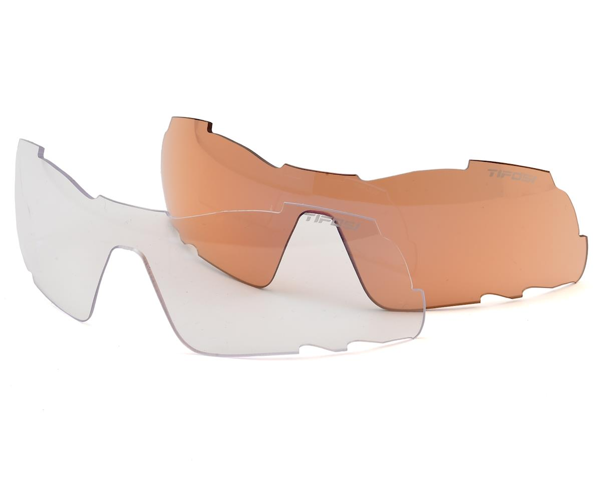 Tifosi Davos Sunglasses (White/Black) (Interchangeable)