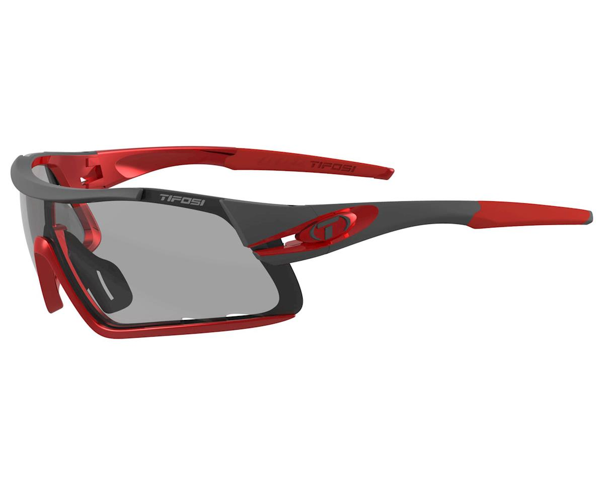 Tifosi Davos Sunglasses (Race Red) (Smoke Fototec)