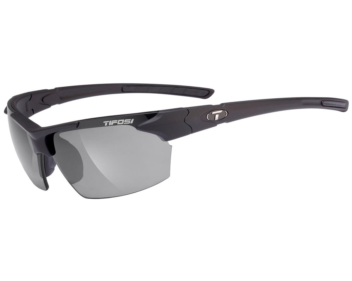 Tifosi Jet Sunglasses (Matte Black) (Polarized)