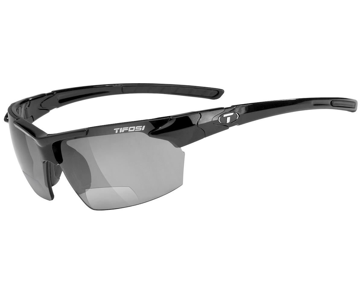 Tifosi Jet Sunglasses (Gloss Black) (Readers 2.0)