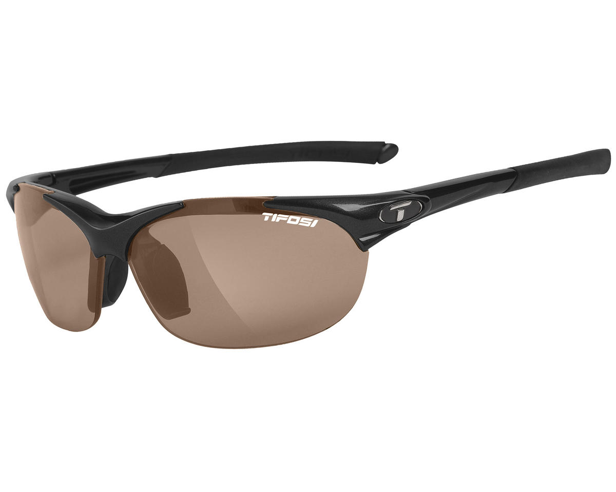 Tifosi Wisp Sunglasses (Gloss Black) (Polarized)