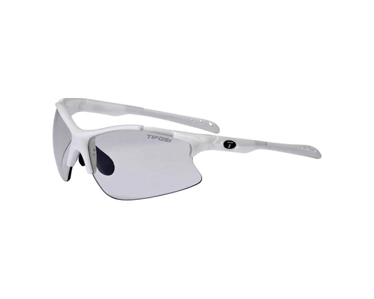 Tifosi Roubaix Sunglasses - Pearl White with Light Night Fototec Lenses