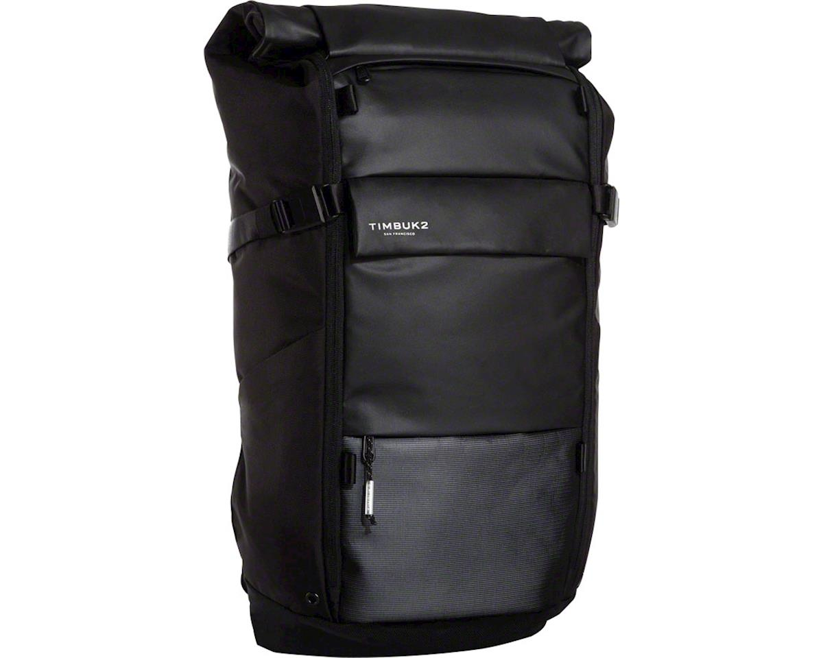 Timbuk2 Clark Backpack: Jet Black, 30-42 Liter
