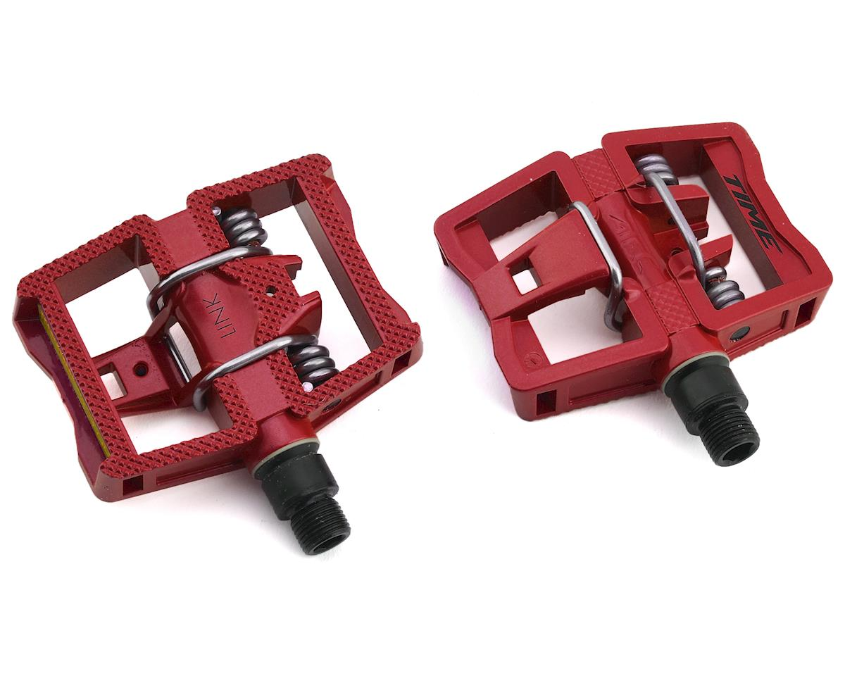 "Time Link ATAC Dual Sided Pedal (Red) (9/16"")"