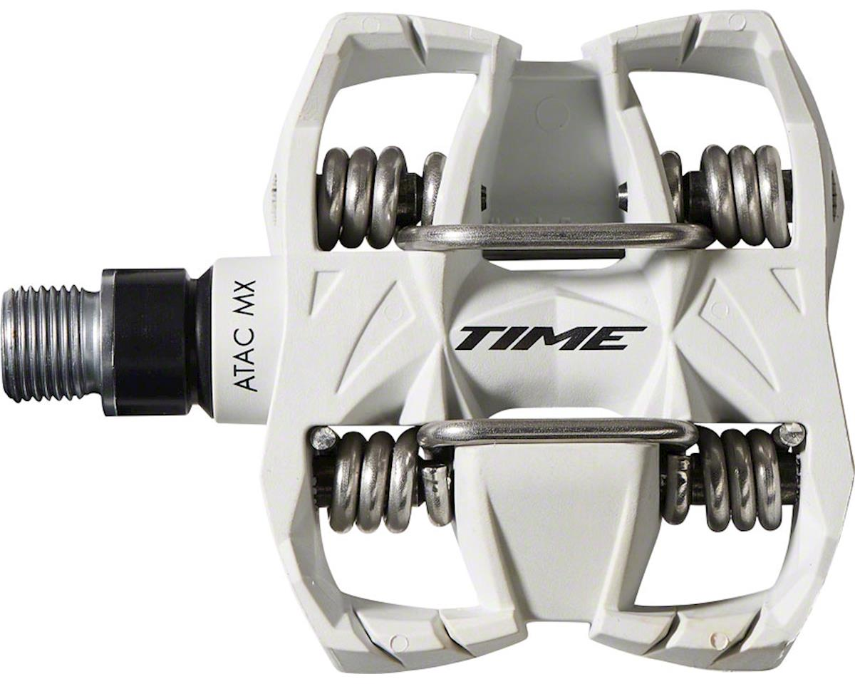9f9d274f3f97 Time ATAC MX 6 Clipless Pedals (White) [T2GV011] | Parts - Nashbar