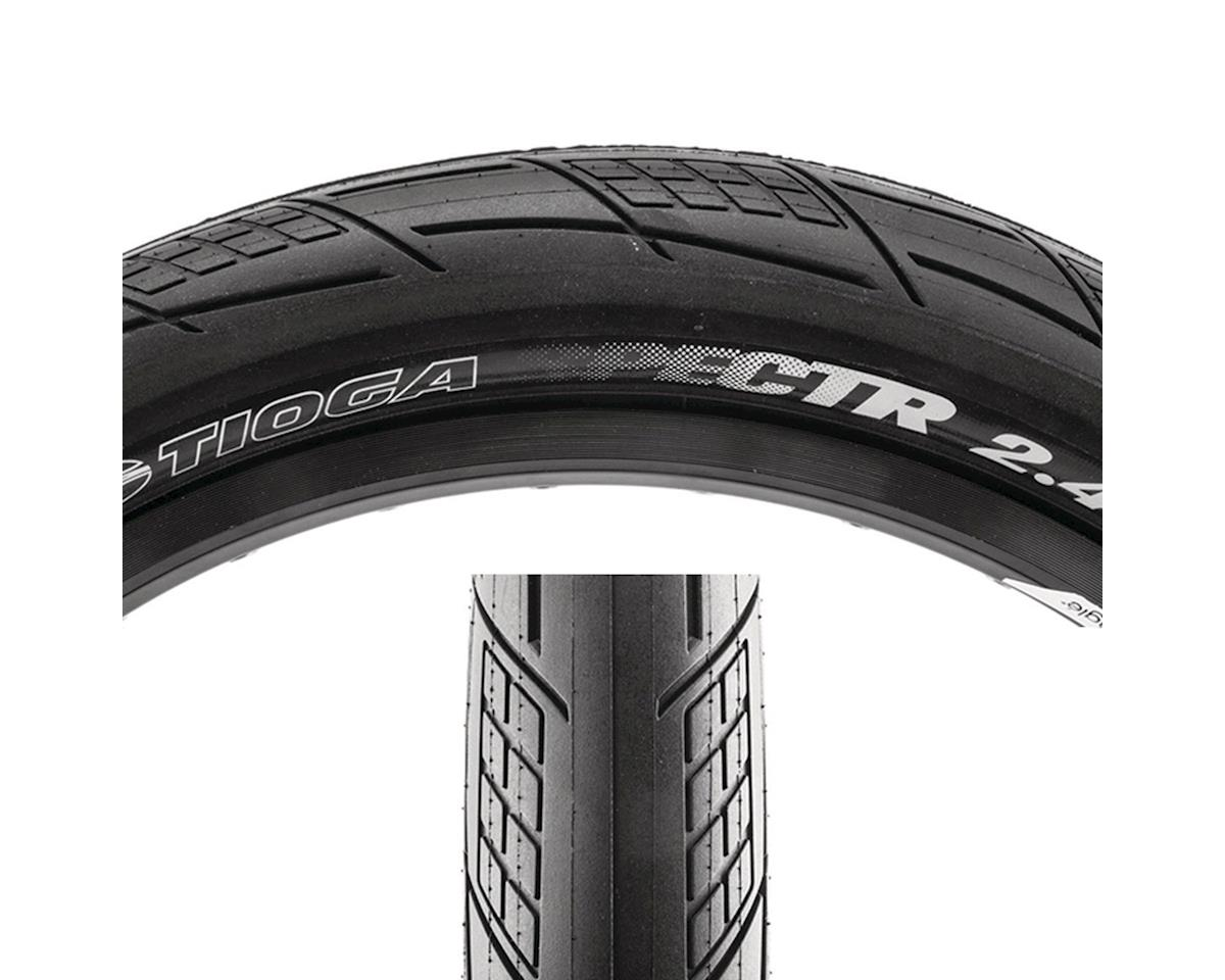 Tioga SPECTR Tire - 20 x 2.4, Clincher, Wire, Black, 120tpi