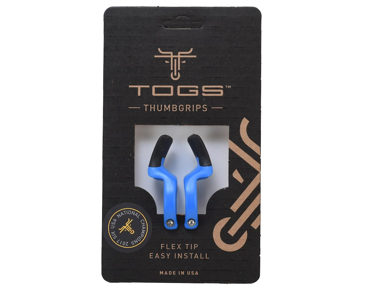 Togs Thumb Over Grip System Flex Hinged Clamp (Blue)
