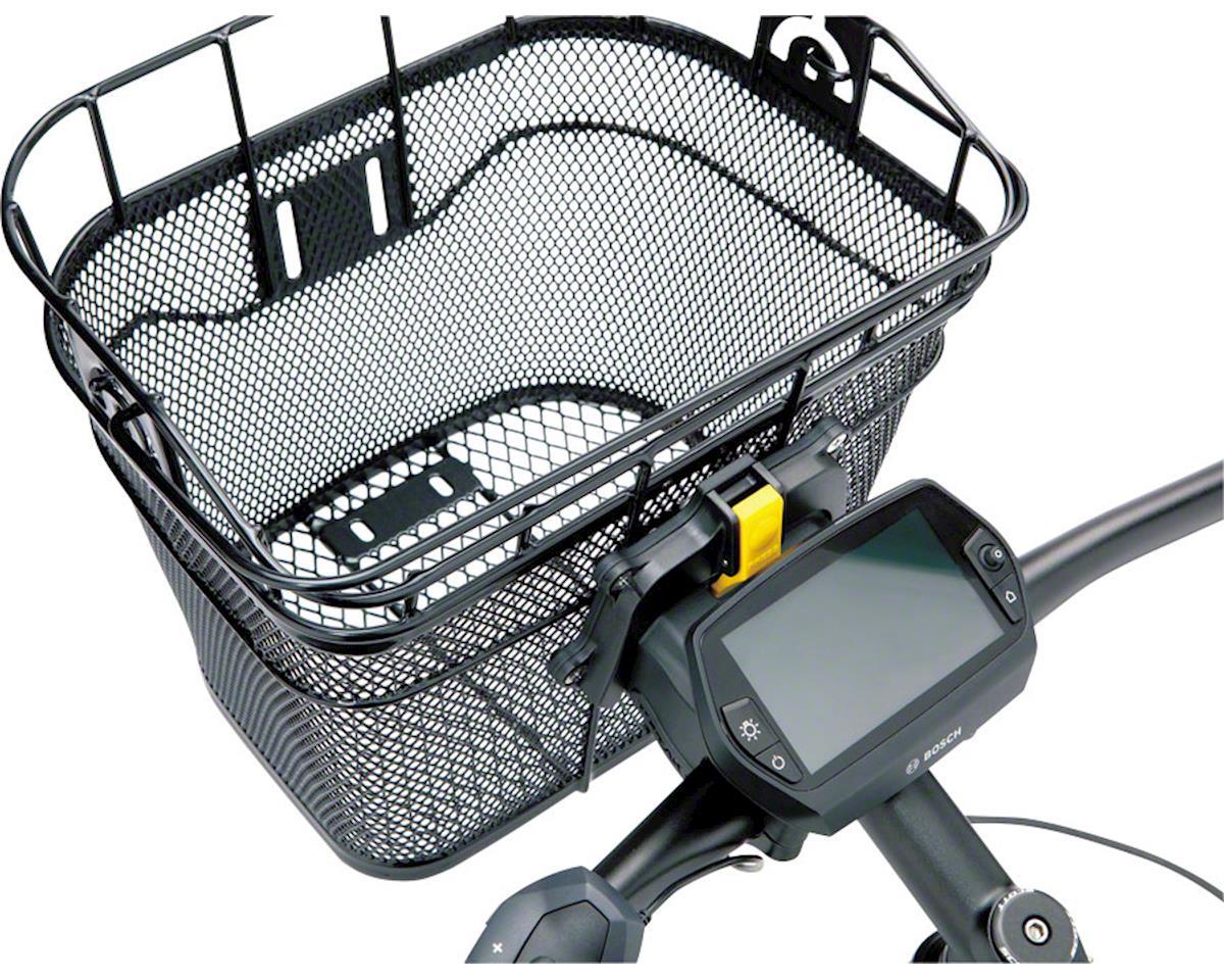 Topeak Front Basket w/ Fixer 3 Handlebar Bracket (Black)