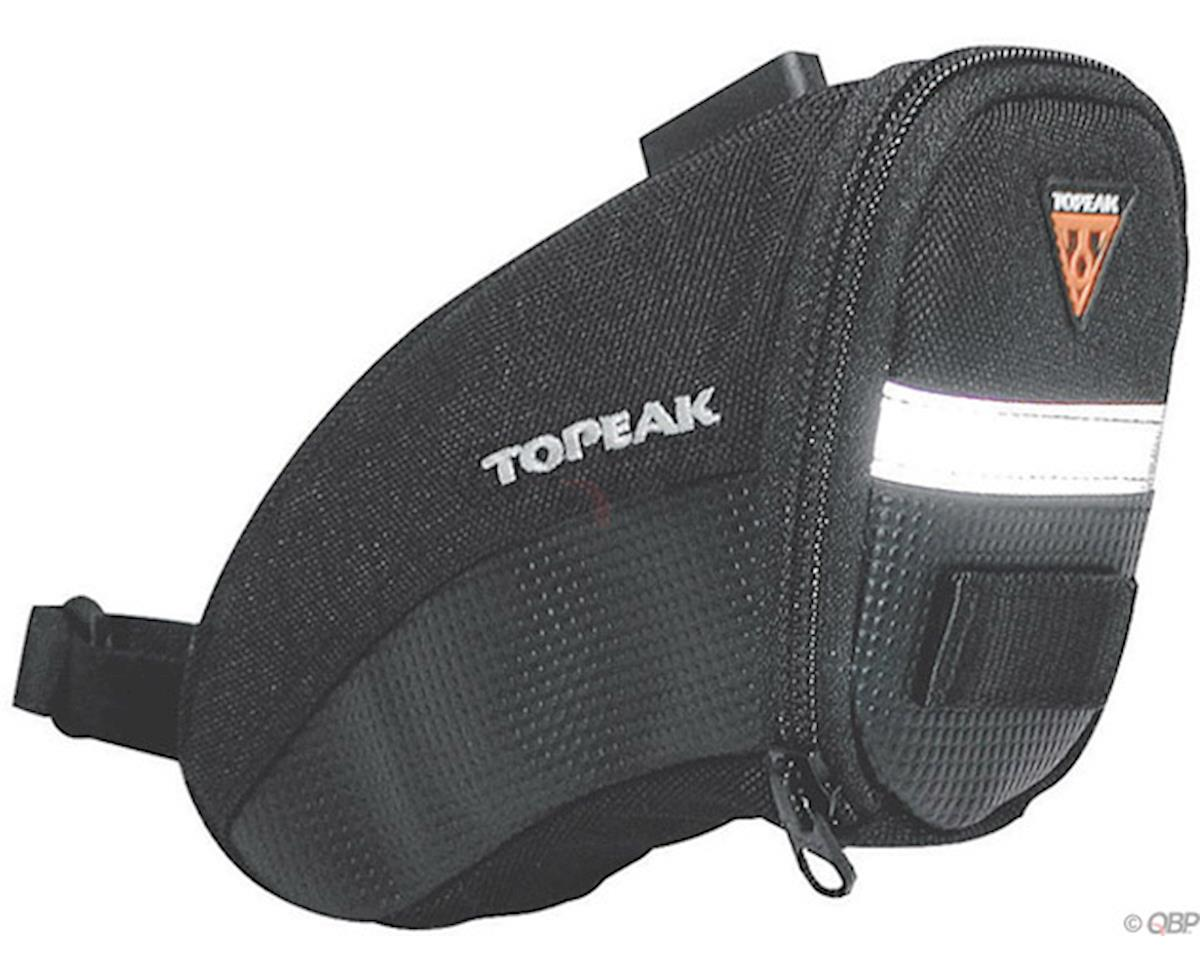 Topeak Aero Wedge Seat Bag: Small Black