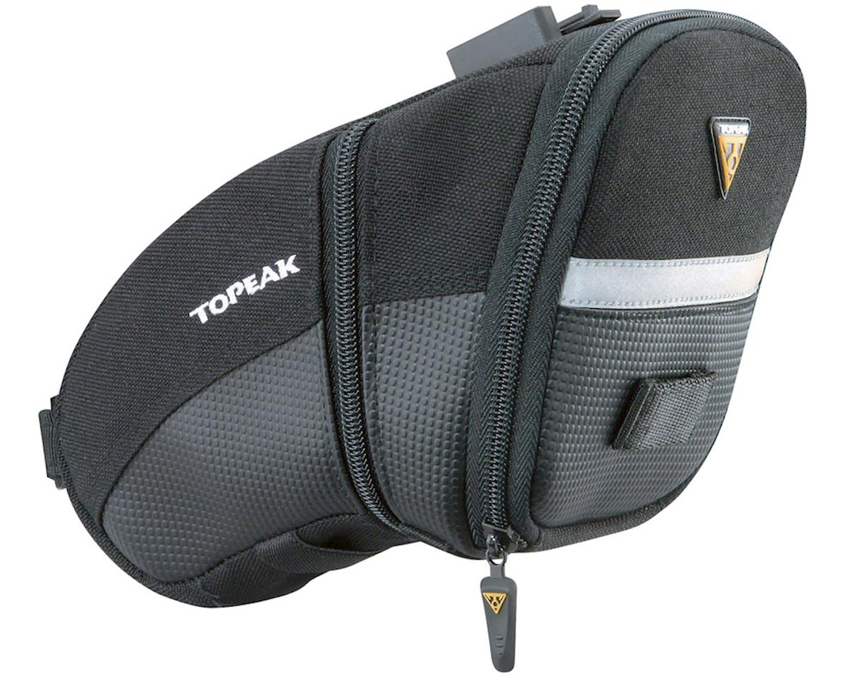 Topeak Aero Wedge Seat Bag: Large, Black