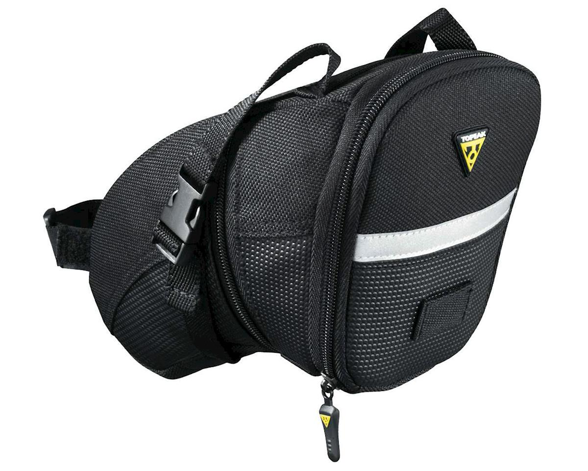 Topeak Aero Wedge Bike Saddle Bag w/Strap Mount (L) | alsopurchased