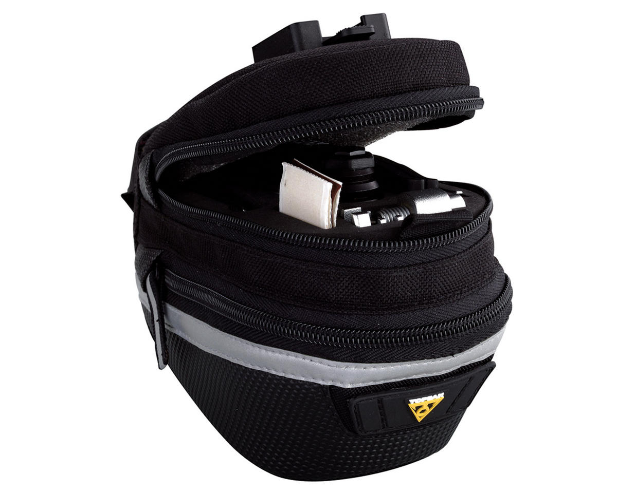 Medium Topeak TC2252B AERO WEDGE PACK QuickClick MTB Road Bike Saddle Seat Bag