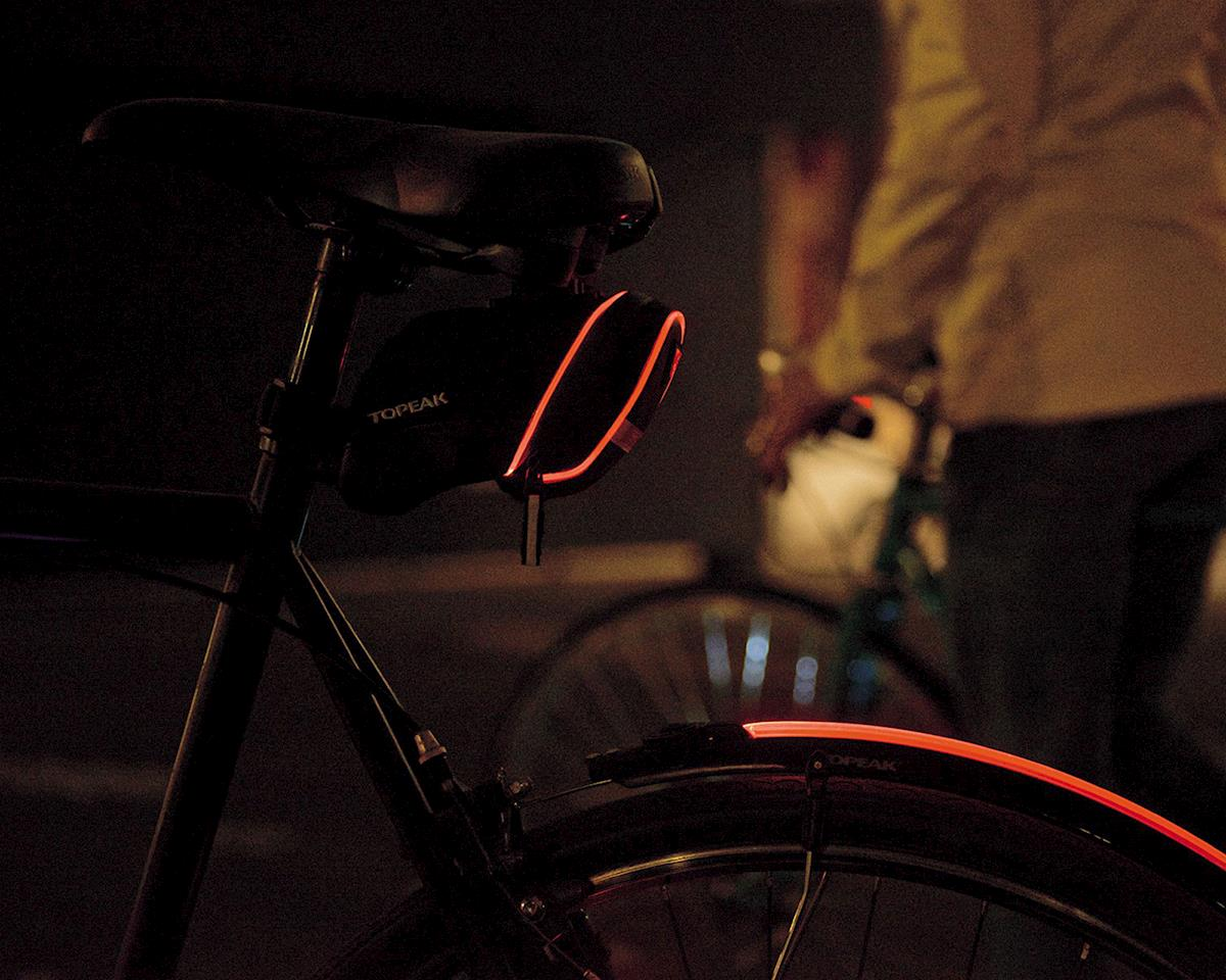 Topeak Wedge Aero iGlow Optical Led Saddle Bag (S)