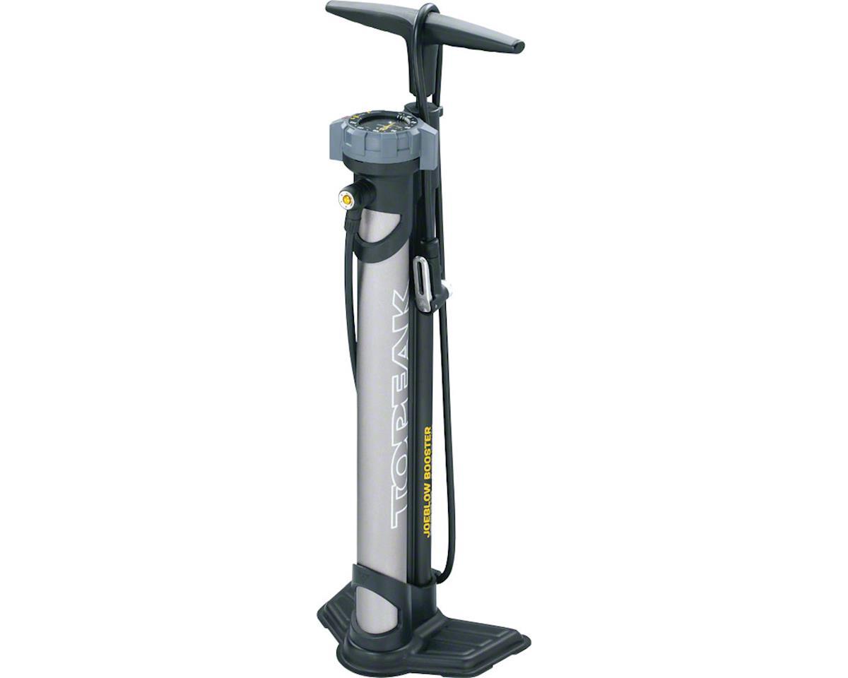 Topeak JoeBlow Booster Floor Pump SmartHead DX3 160psi // 11bar Black//Gray