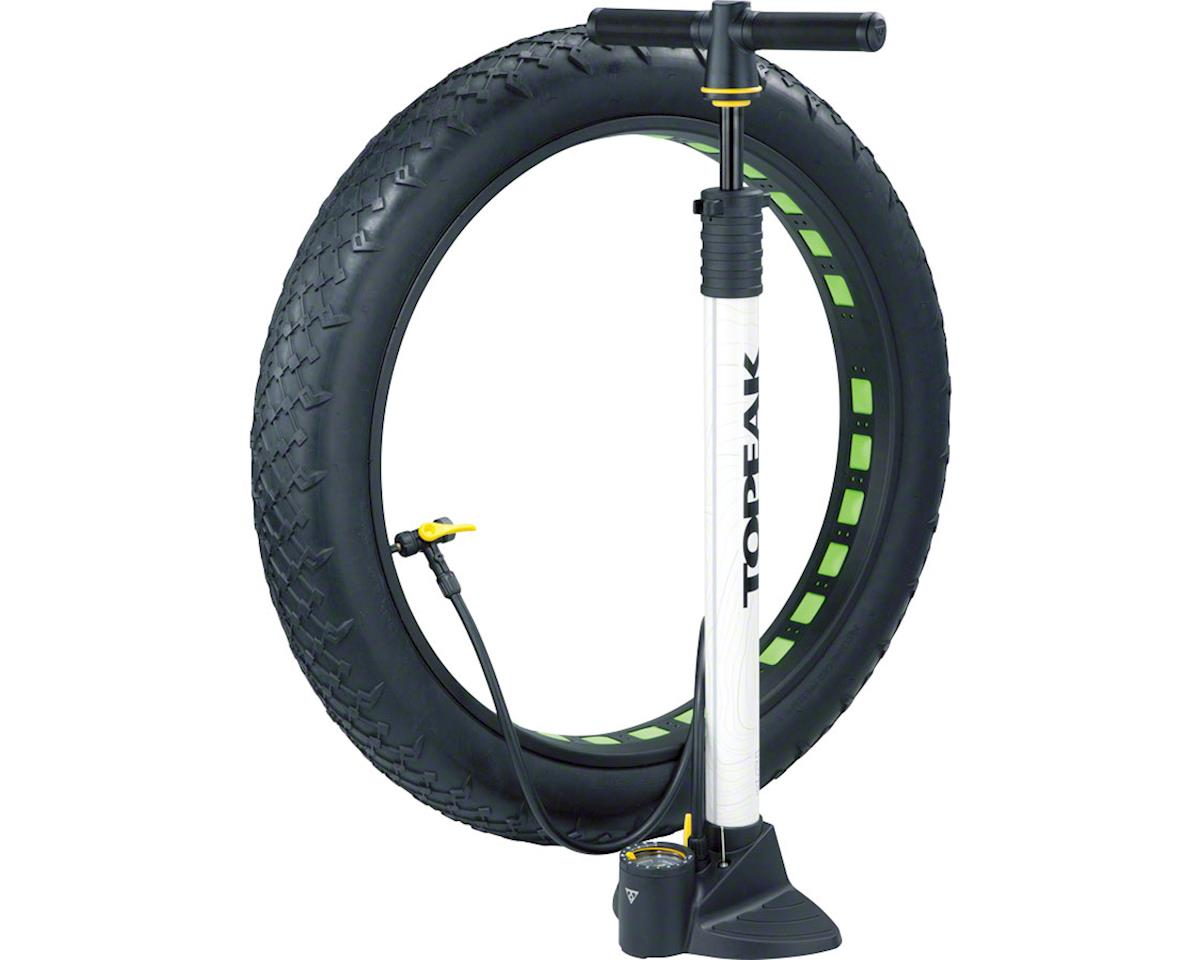 Topeak JoeBlow Fat Floor Pump White