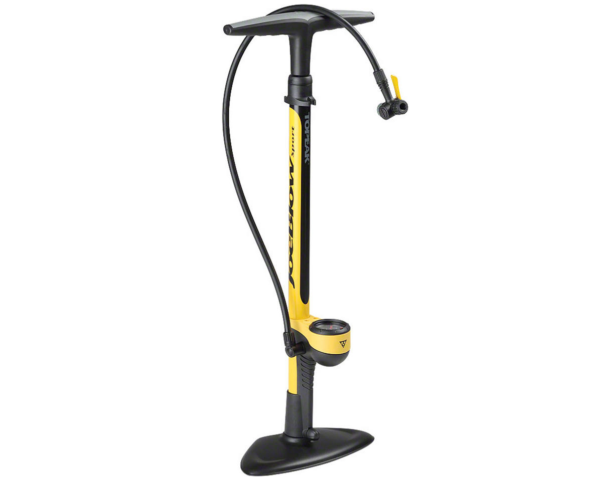 Topeak Joe Blow Sport II Floor Bike Pump (Yellow)
