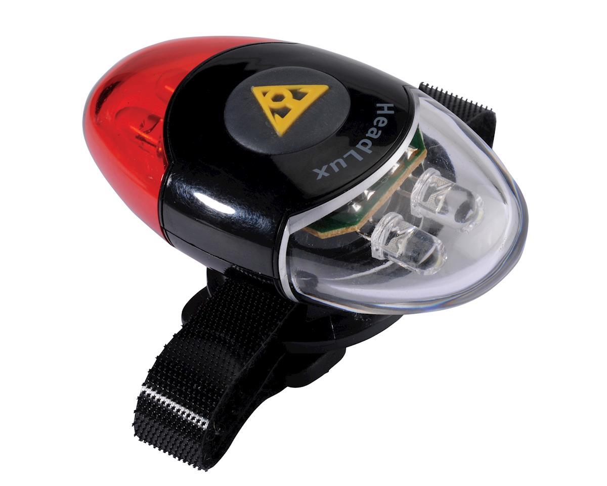 Image 2 for Topeak TPK HeadLux Helmet Mount Front/Rear Combo Light