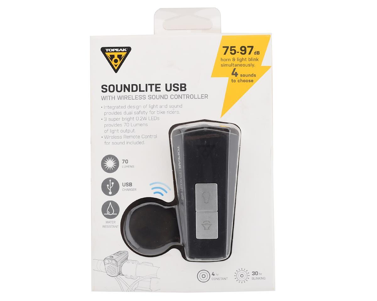 Topeak SoundLite w/ Wireless Sound Controller (Black)