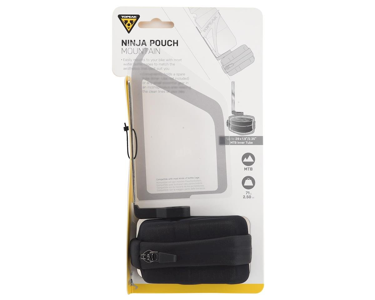 Topeak Ninja Pouch Mountain Cage Mount w/ Spare Inner Tube Pouch