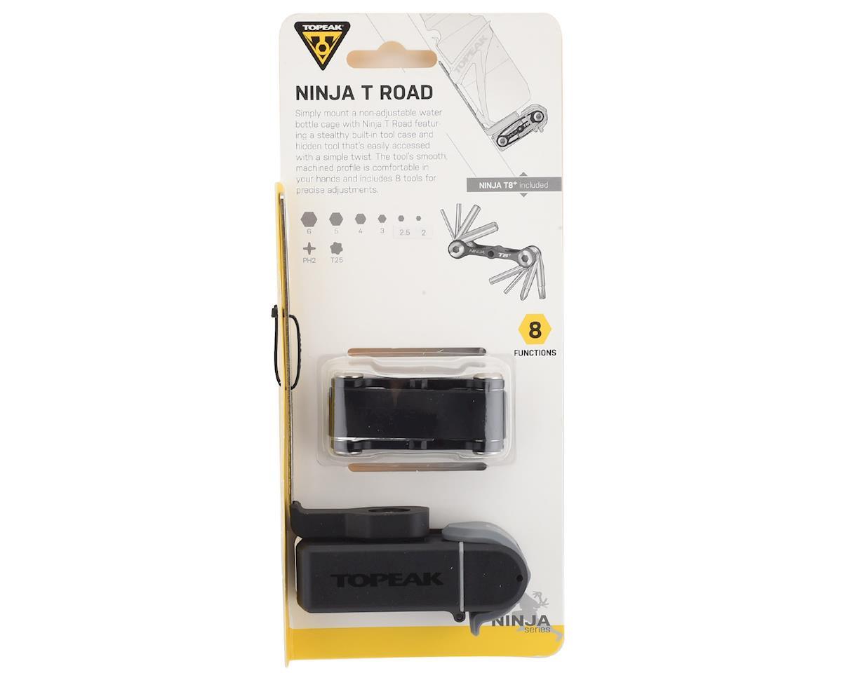 Image 3 for Topeak Ninja T Road (Ninja Cage Mount w/ Ninja T8+ Tool & Tool Box)