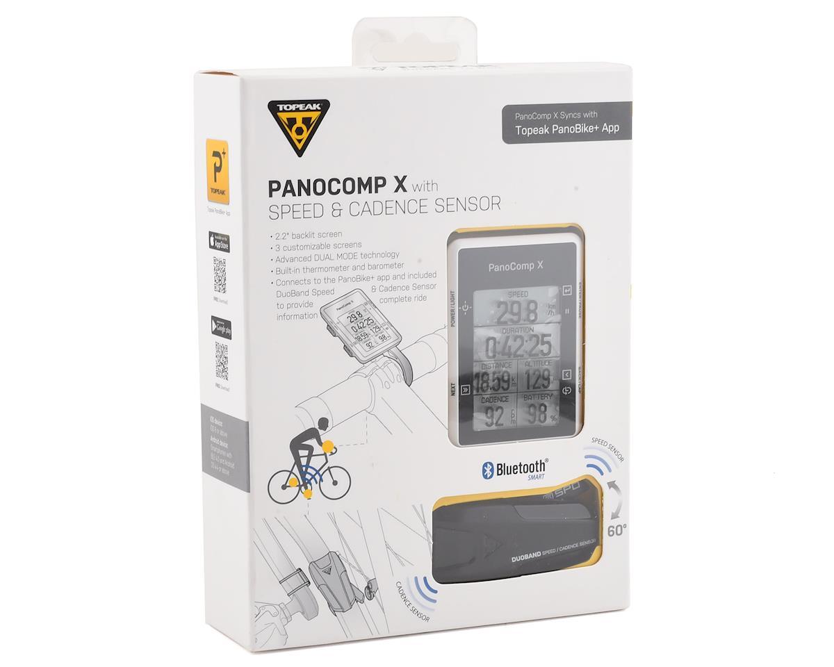 Topeak PanoComp X Bluetooth Smart Computer w/ DuoBand Speed & Cadence Sensor