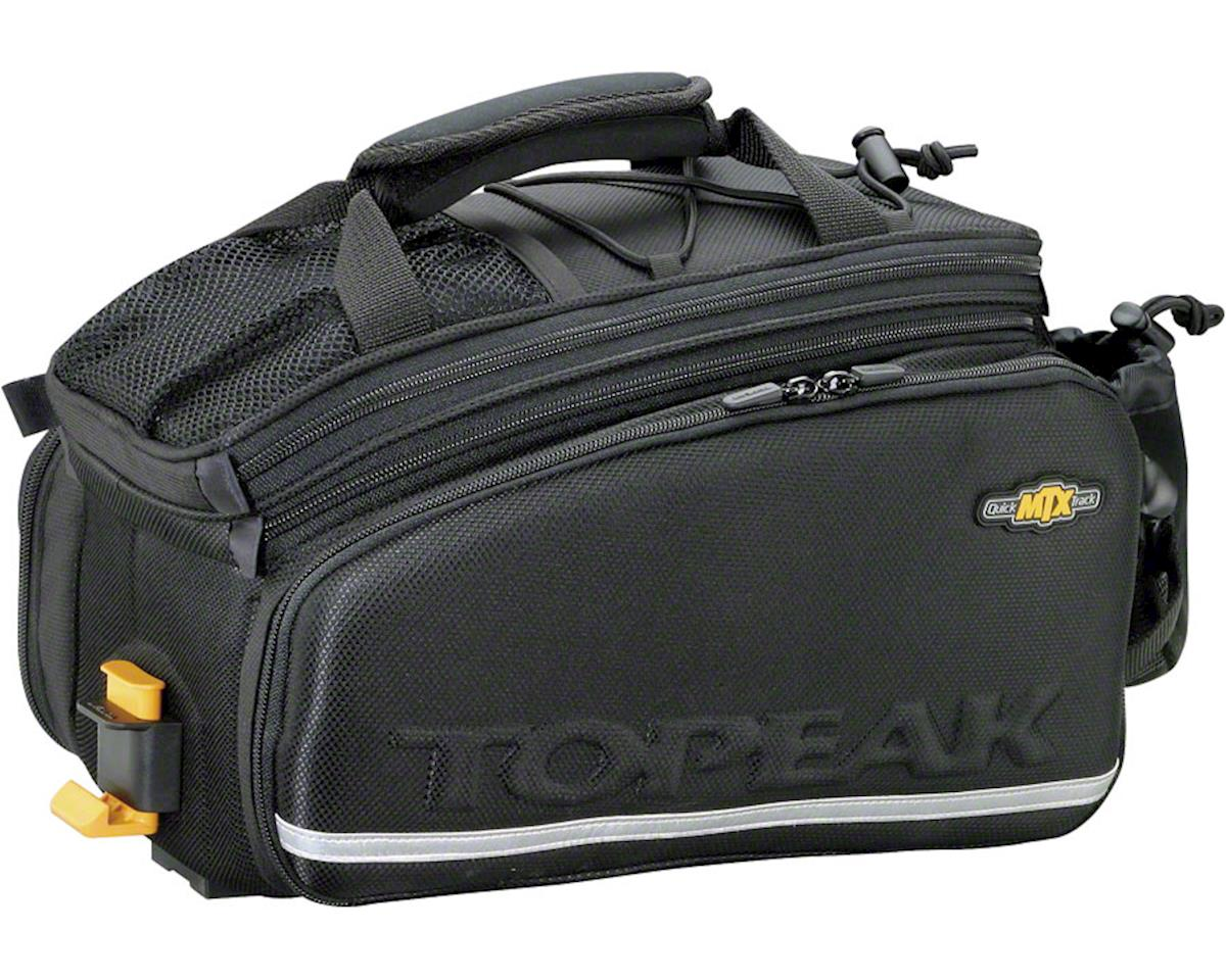 Topeak MTX TrunkBag DXP Rack Bag w/ Expandable Panniers (Black) (22.6 Liter)