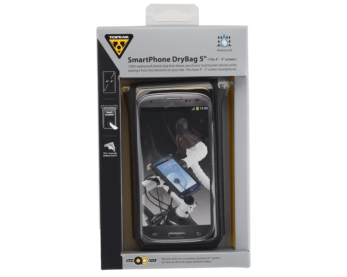 "Image 4 for Topeak Smartphone Drybag (Black) (Fits 4-5"" Smart Phones)"