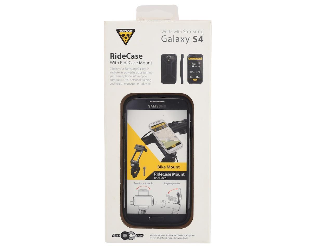 Topeak RideCase w/ RideCase Mount (Black) (Samsung Galaxy S4)