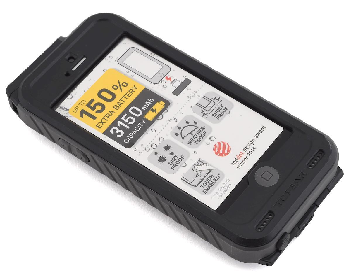 Topeak WeatherProof Ridecase w/ Battery (Black/Grey) (iPhone SE/5/5s)