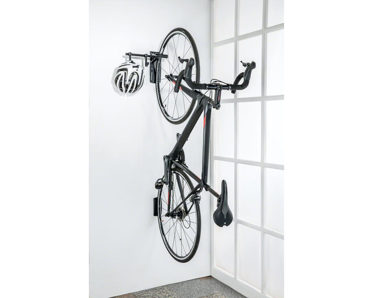 Image 2 for Topeak OneUp Bike Stand Wall Mount Storage Rack (Gray/Silver) (1-bike)