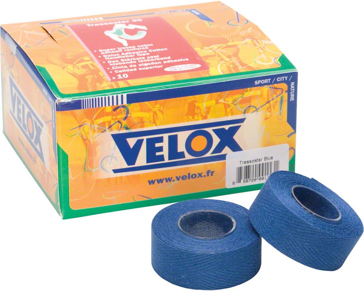 Tressostar Blue Cloth Bar Tape Box of Ten