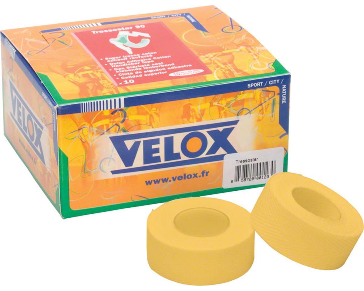 Tressostar Yellow Cloth Bar Tape Box of Ten
