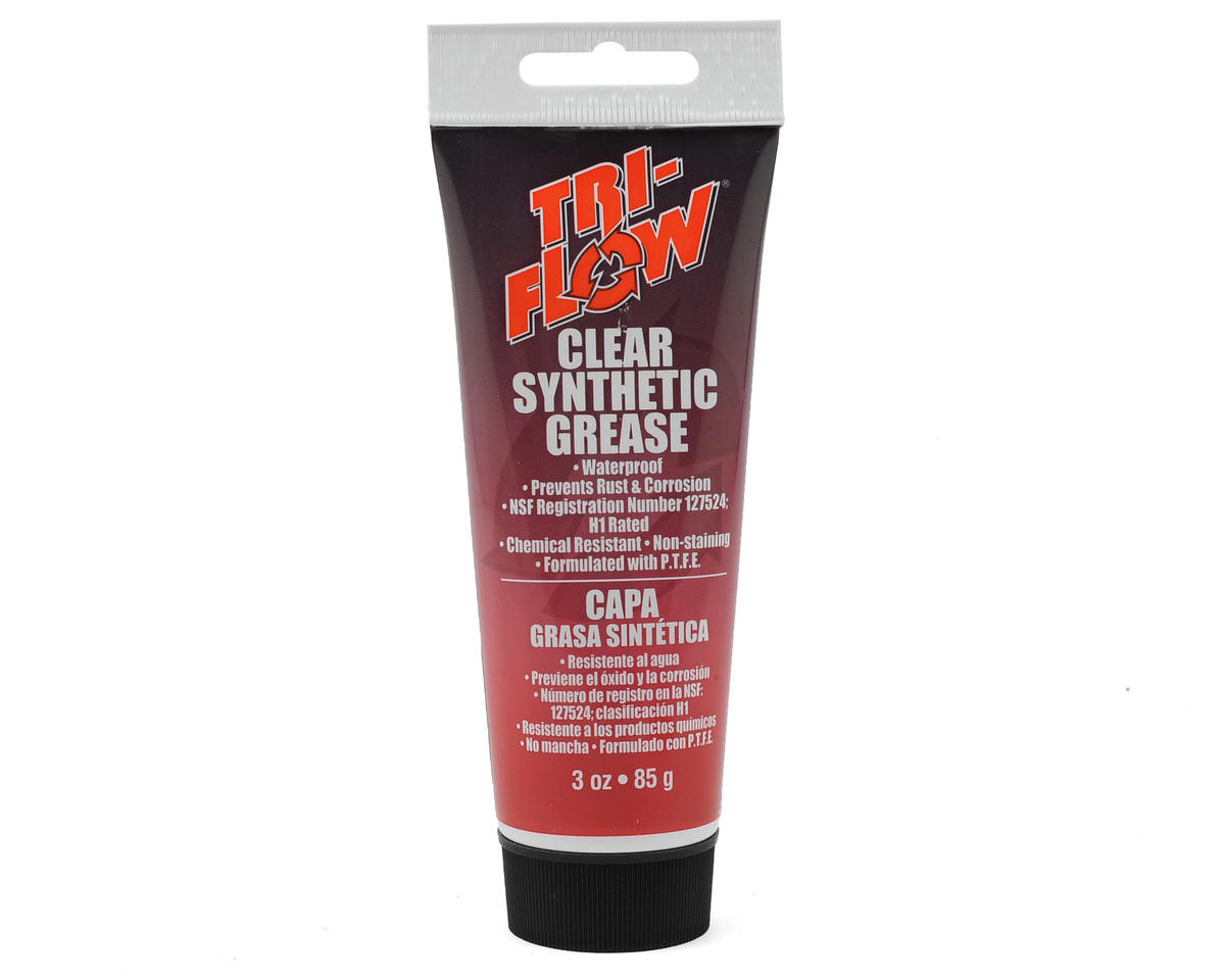 Clear Synthetic Grease (3oz) by Tri-Flow