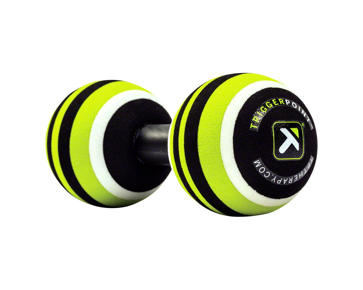"""MB2 Massage Roller Ball Set: 2.6"""" diameter, Green/Black,White"""