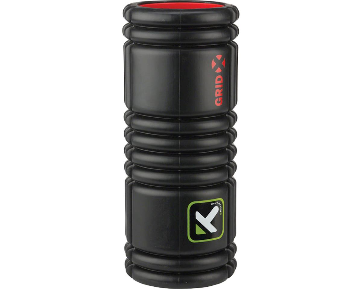 Trigger Point The Grid X Foam Roller: 13-inch Roller, Black
