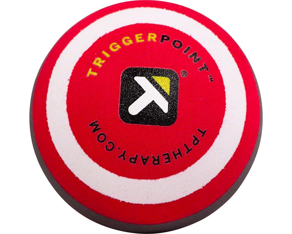 "MBX Massage Ball, 2.5"" diameter, Black/Red"