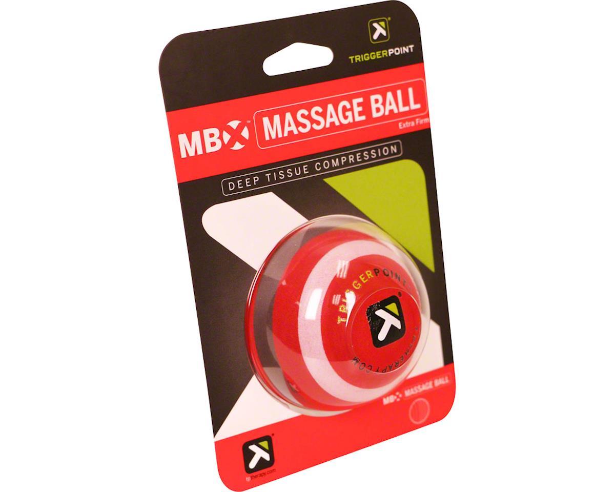 "Trigger Point 2.5"" Massage Ball (Black/Red)"
