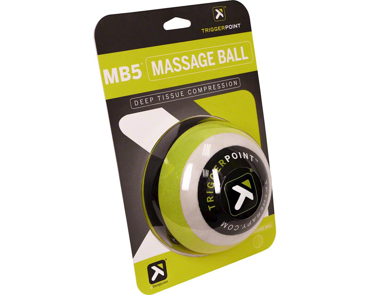 "Trigger Point 5"" Massage Ball (Green/Black/White)"