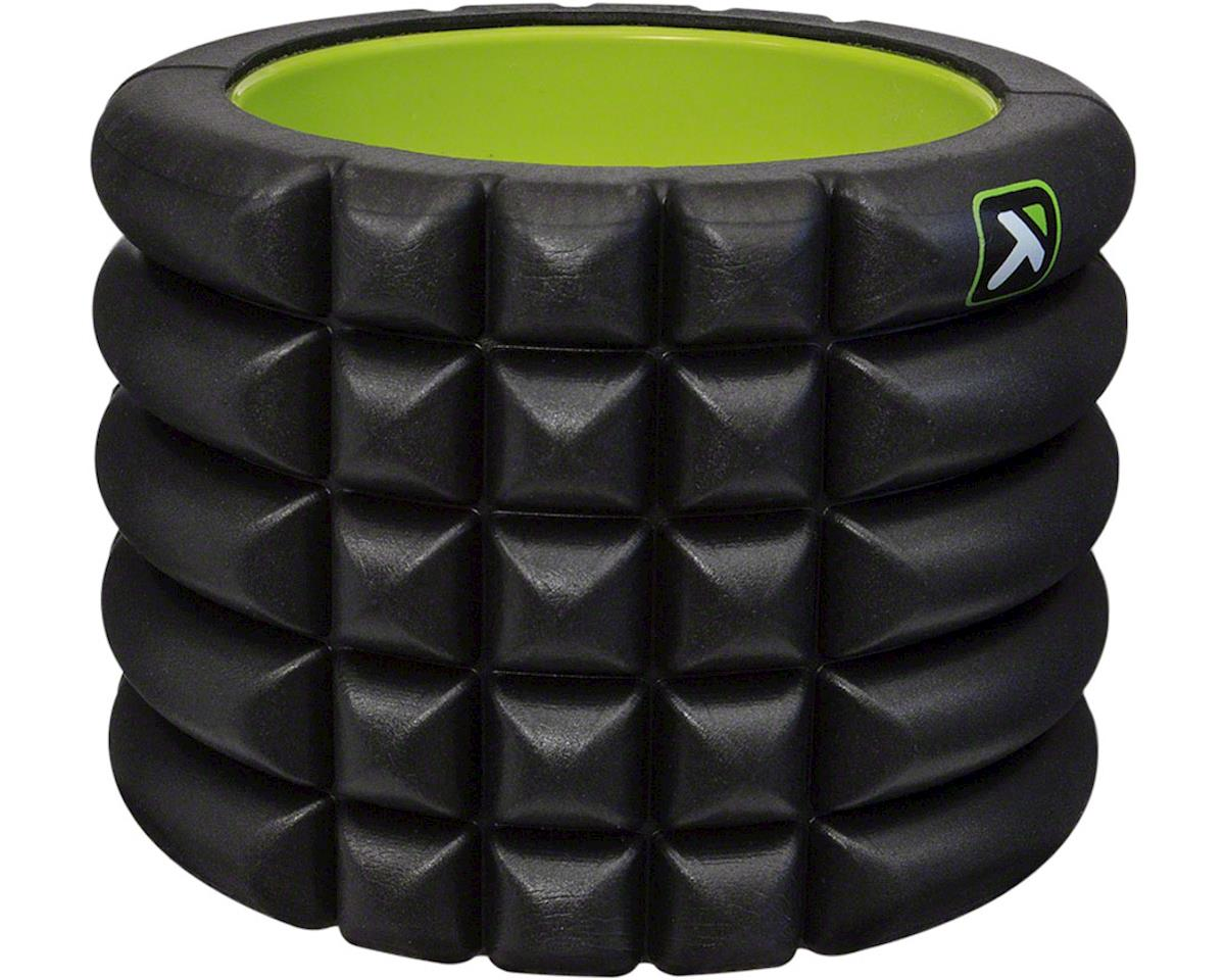 Trigger Point Grid Mini Foam Roller: 4-inch Roller, Black