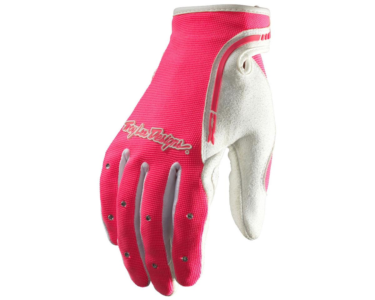 Troy Lee Designs Women's XC Bike Gloves (Pink) (L)