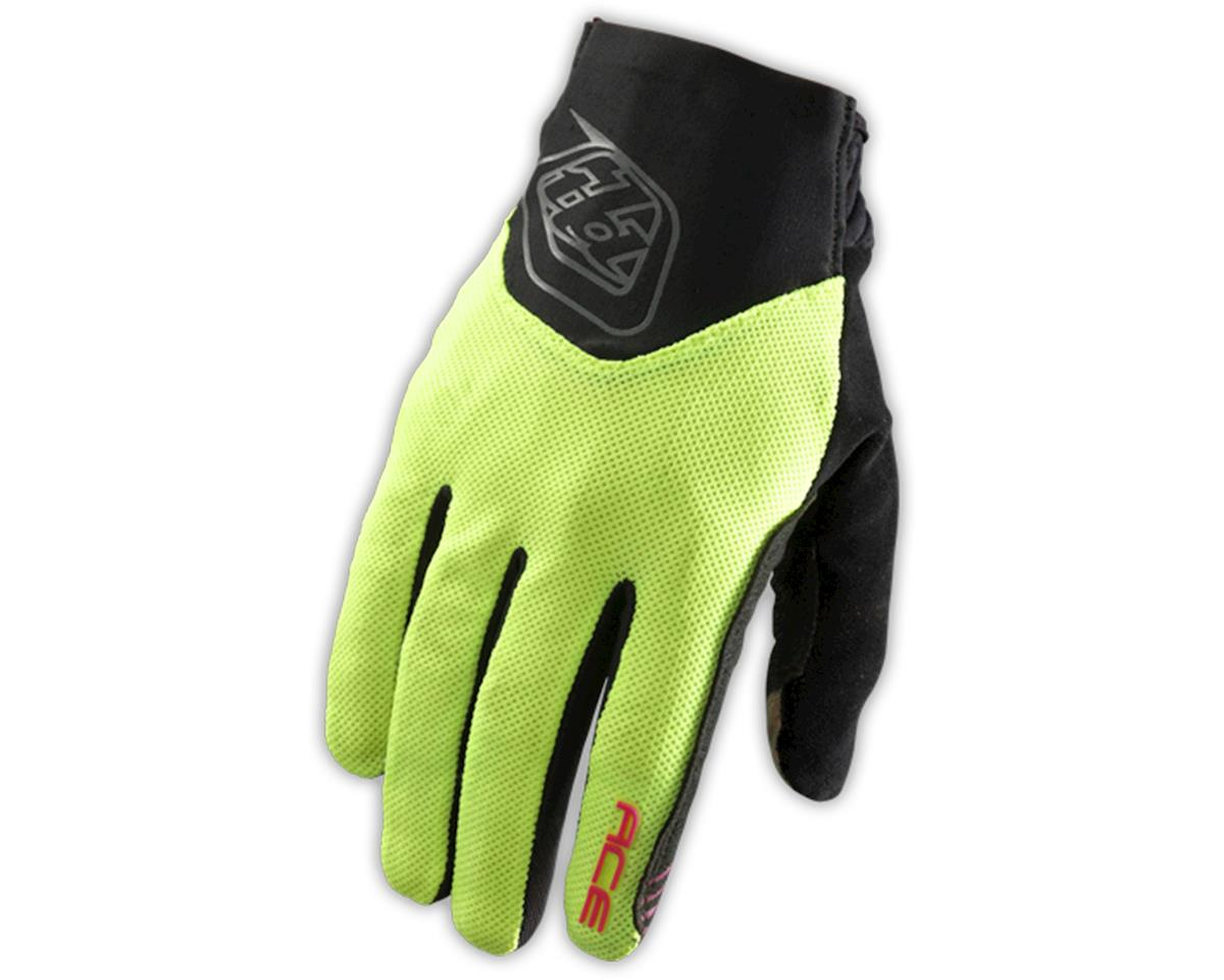 Troy Lee Designs Ace Bike Gloves (Flourescent Yellow) (S)
