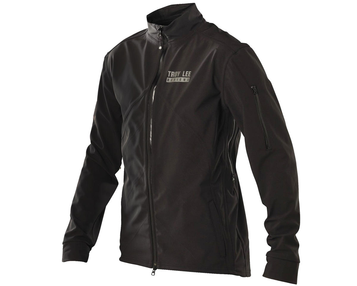 Troy Lee Designs Transit Bike Jacket (Black) (S)