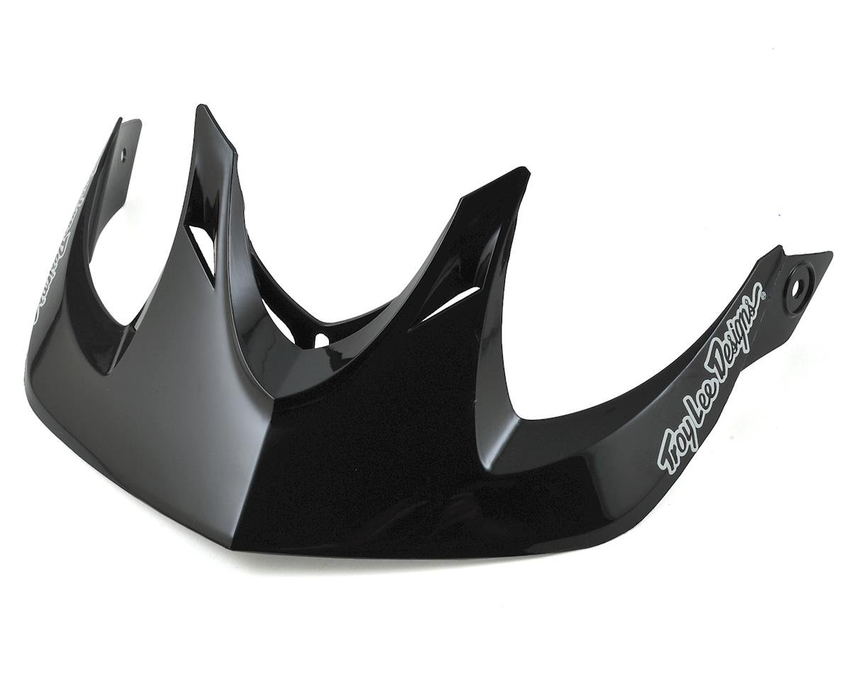 Troy Lee Designs A1 MIPS Visor (Black)