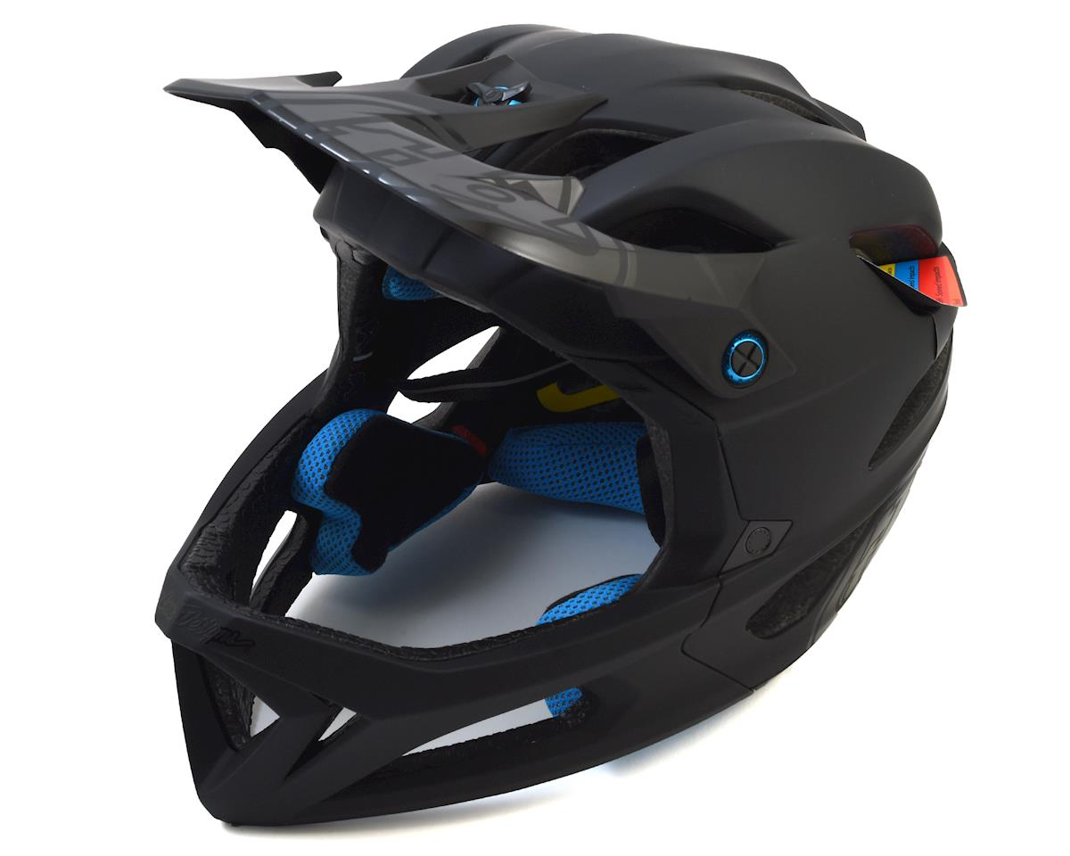 Troy Lee Designs Stage MIPS Helmet (Stealth Black) (M/L)
