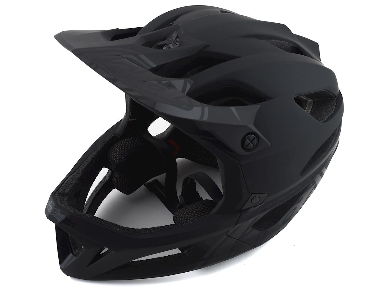 Troy Lee Designs Stage MIPS Helmet (Stealth Midnight)