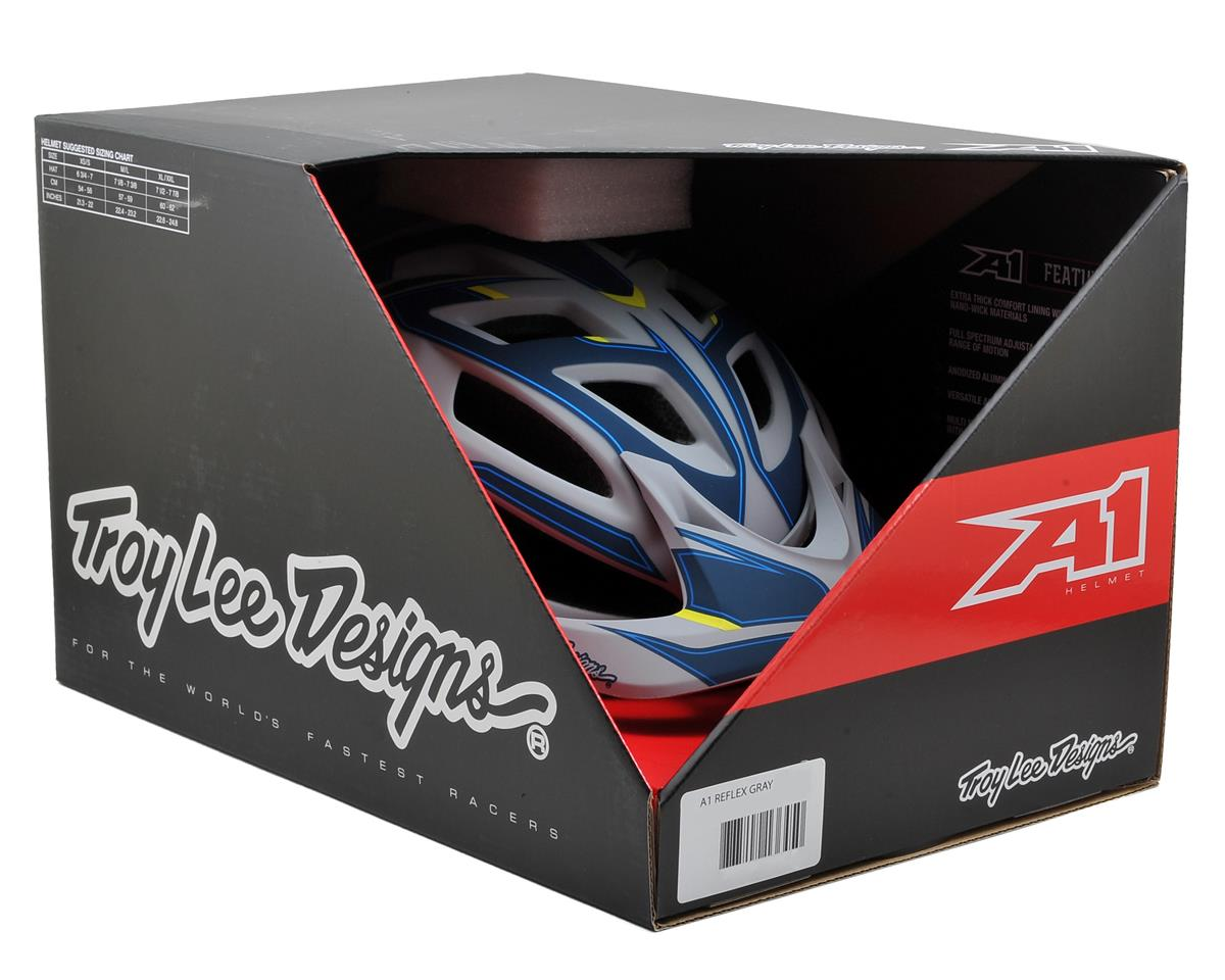 Troy Lee Designs A1 MTB Helmet (Reflex Gray) (XS/S)