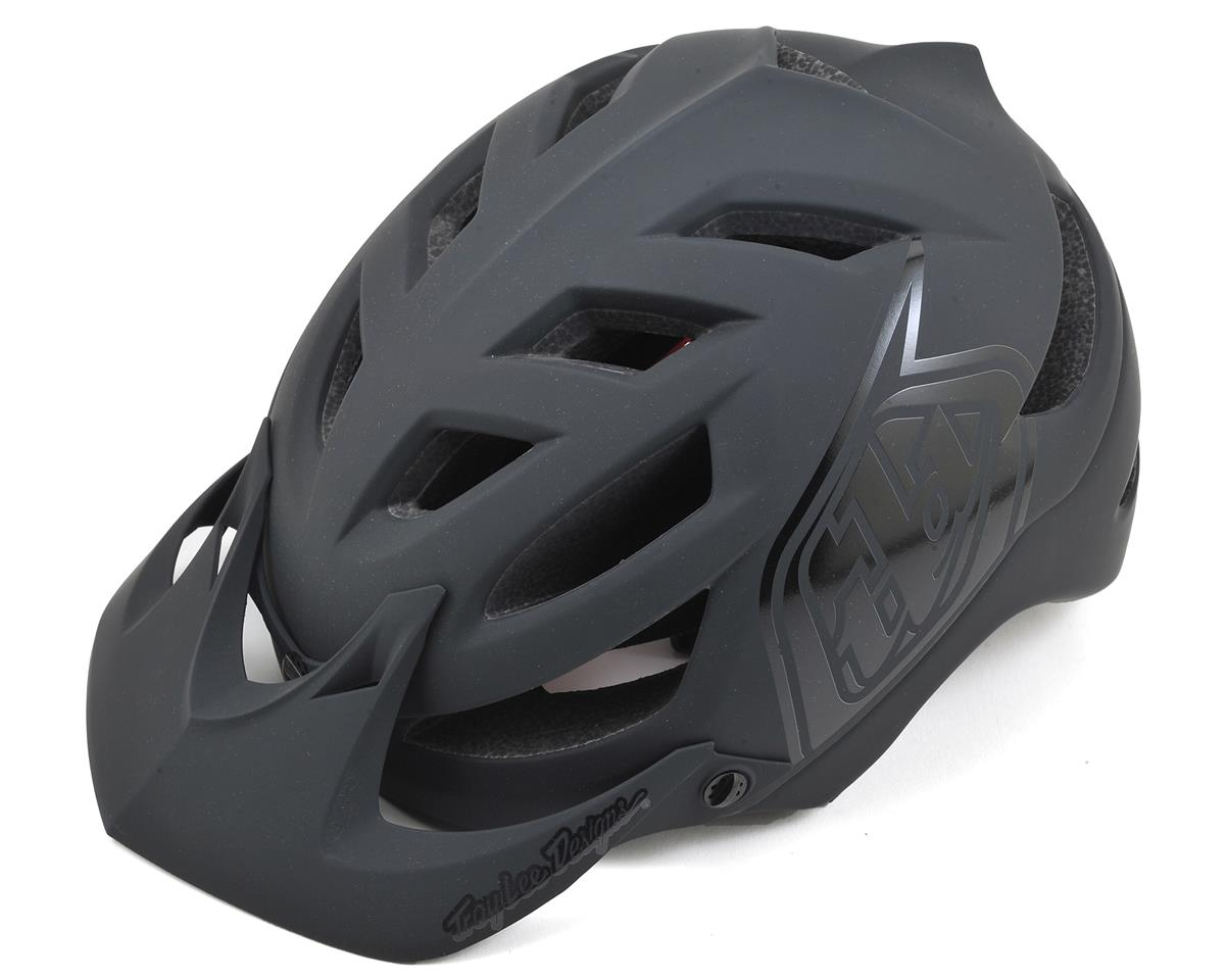 Troy Lee Designs A1 MTB Helmet (Drone Black) (XS/S)