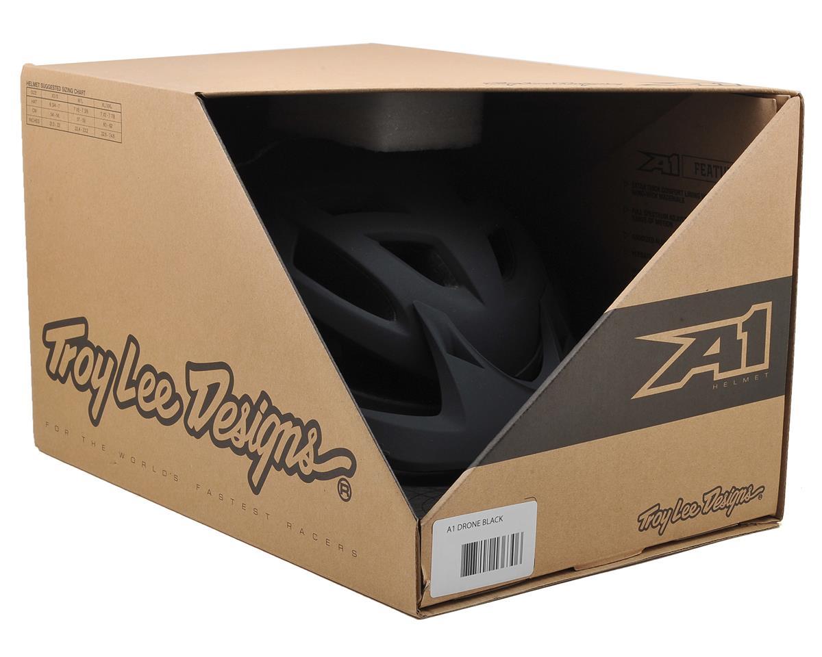 Troy Lee Designs A1 MTB Helmet (Drone Black) (M/L)