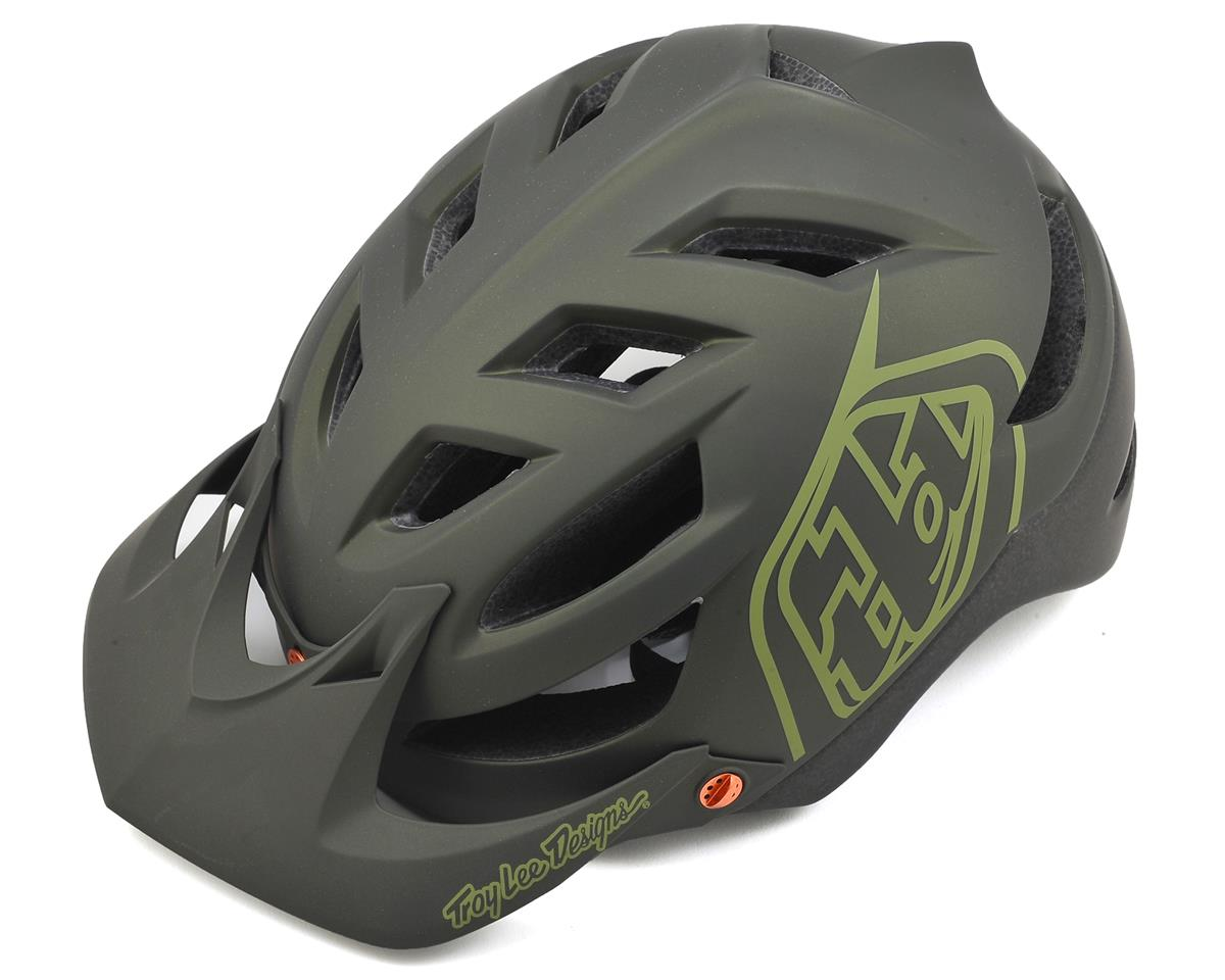 Troy Lee Designs A1 MTB Helmet (Drone Army Green) (M/L)