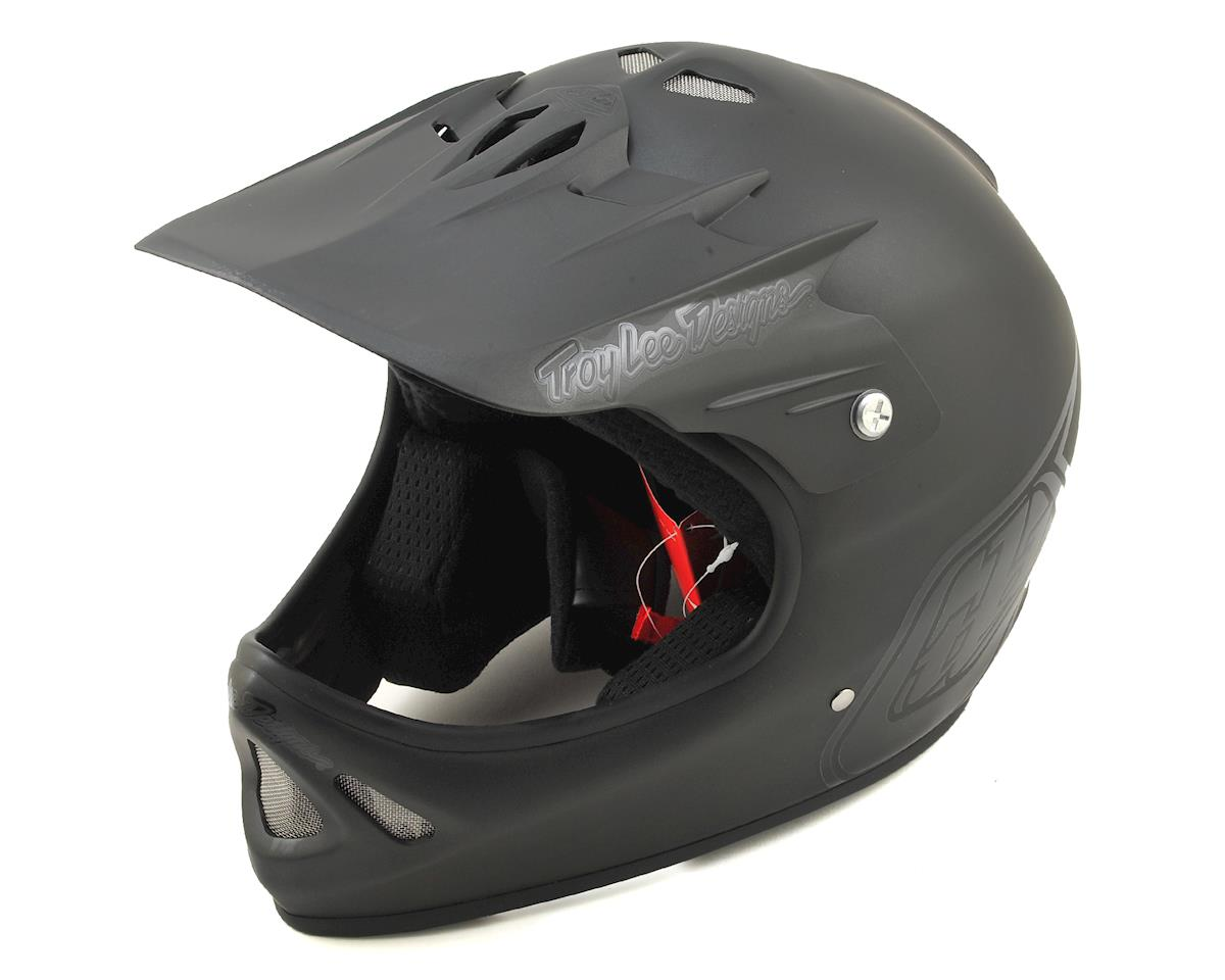 SCRATCH & DENT: Troy Lee Designs D2 Full Face Helmet (Midnight 3 Black) (M/L)